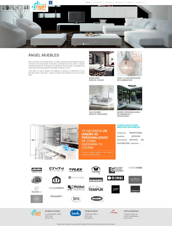 web angel muebles qu ntico web