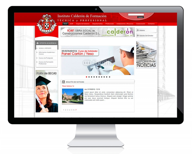 Software de gestion de centros educativos