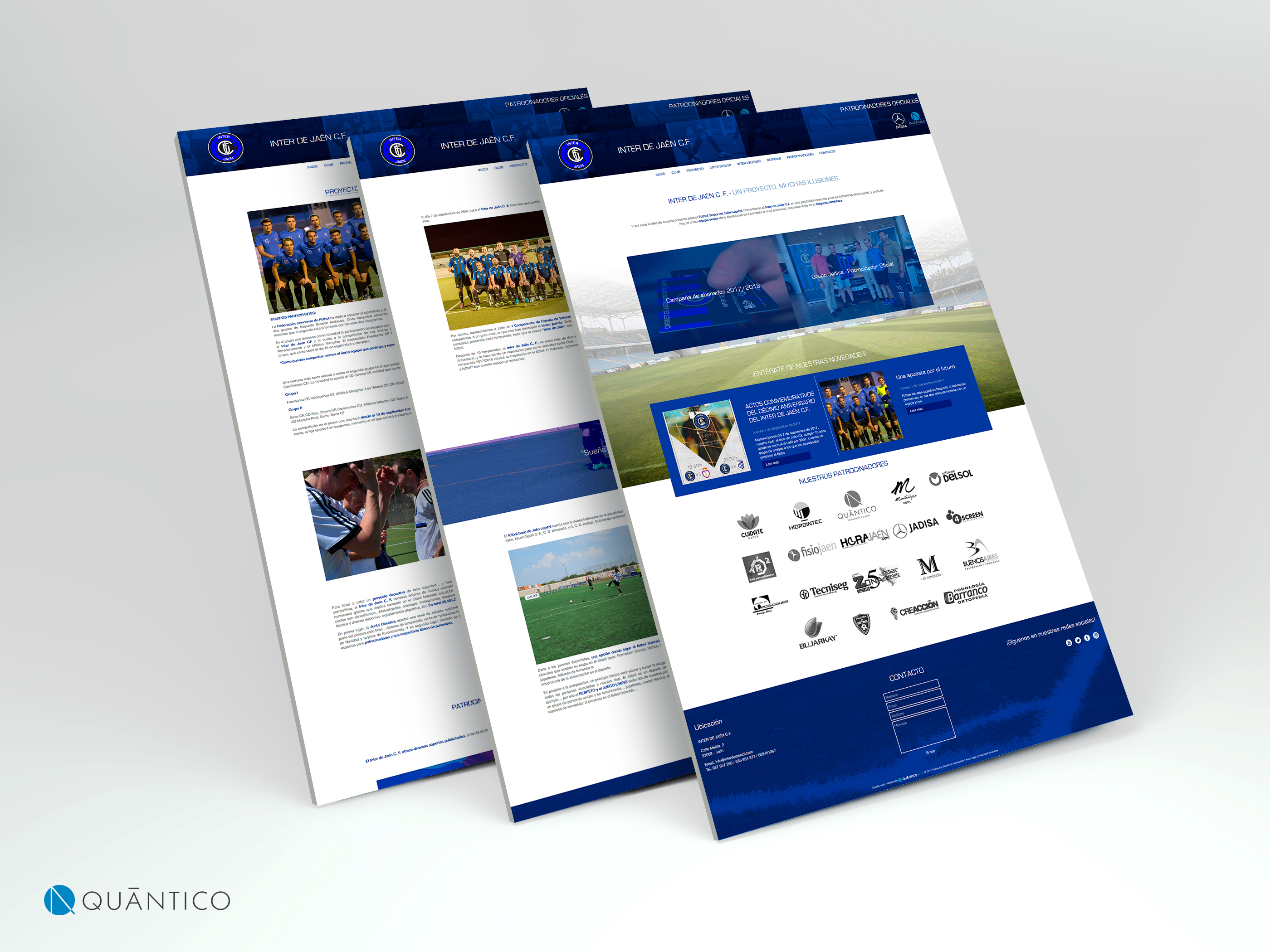 Diseño adaptative inter de jaen